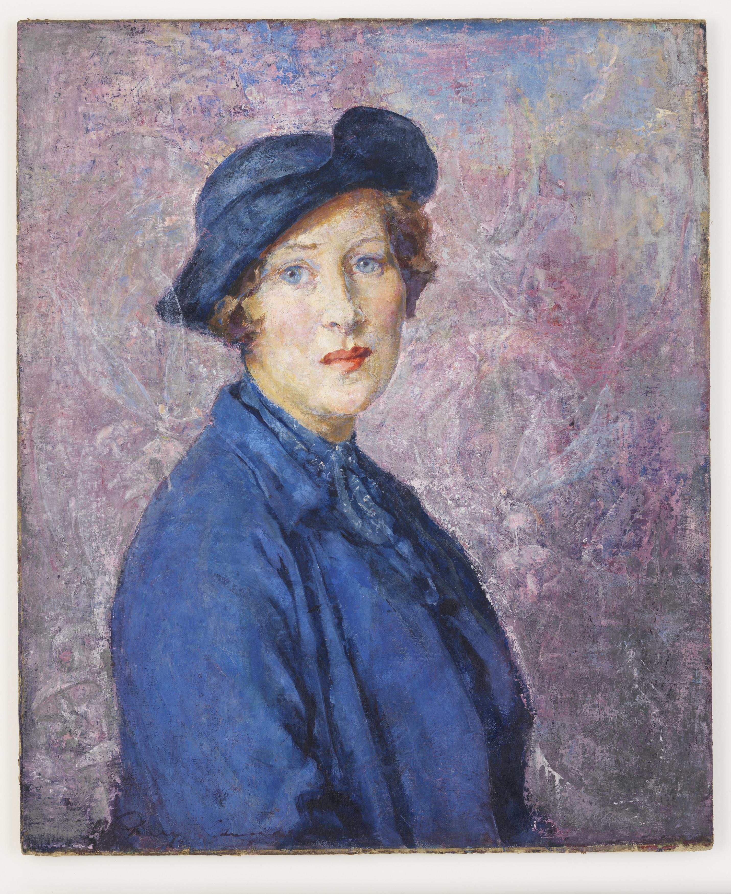 Painted portrait of Pixie O'Harris.