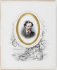Walter Russell Hall [portrait] / with vignette drawn by Helena Forde, Sydney, 1874