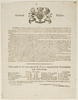 New South Wales. Governor - general orders and proclamations [printed broadsides], 1800-1810
