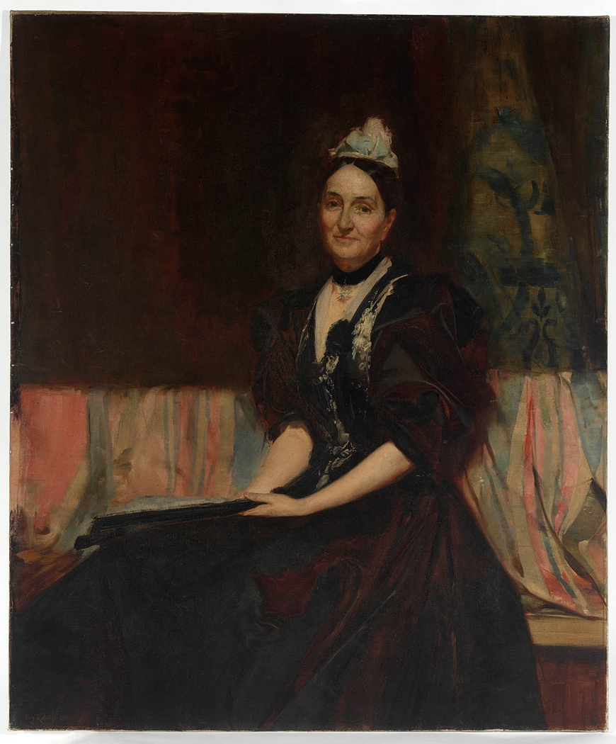 Mrs Tryphena A. Dibbs, 1897 / painted by Tom Roberts