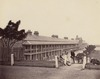 Victoria Barracks, Paddington, when occupied by 50th Regiment, Dec 1870 / [attributed to Charles Pickering]