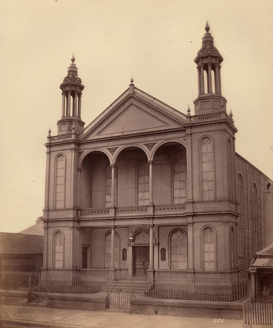 iron Church Macquarie Street