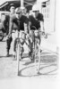 Professional cyclists, Norman Gilroy and Jim Belmore