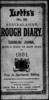 Series 04: James S. Hassall, diary 1881