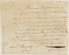 Petition from John Connell to Captain Dumaresq recommending Aborigines of Botany Bay to receive General Darling's donation of blankets, 1825-1831
