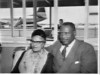 Paul Robeson and his wife arrive, Mascot