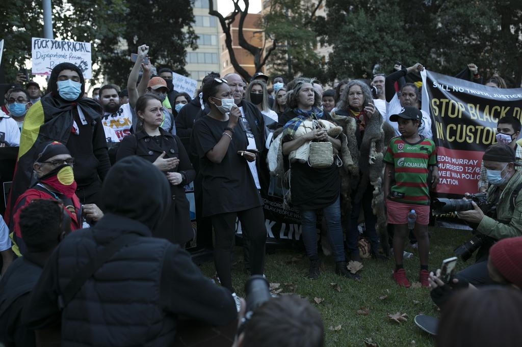 Item 22: Black Lives Matter protest, Sydney, New South Wales, 6 June 2020