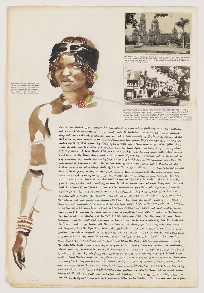 Zulu Girl: Kathleen's voyage around the Cape, Durban to Capetown: Nov-Dec 1947, Log 5
