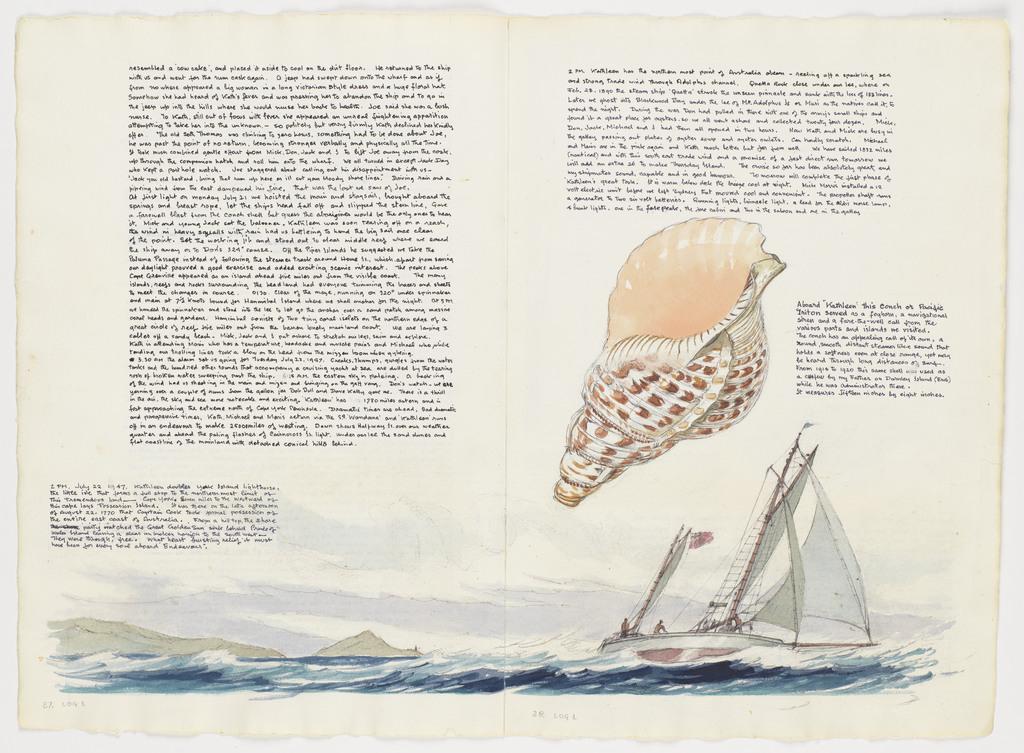 Conch Shell: Voyage of the Kathleen Gillett, Sydney to Thursday Island: 1947: Volume One