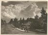 Katoomba St. [Street] & Clouds, Katoomba / H. Phillips, copyright