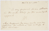 Series 63.51: Note received by Nevil Maskelyne from Banks, 28 April 1801