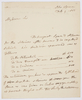 Series 63.30: Document title Copy of a letter received by Evan Nepean from Banks, 9 February 1801