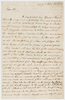 Series 46.28: Letter received by Banks from William Bligh, 18 December 1789
