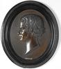 Daniel Henry Deniehy, 1859 / bronze portrait medallion cast by W. Lorando Jones