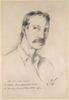 Robert Louis Stevenson, ca. 1892 / sketched by Girolamo Pieri Ballati Nerli