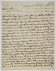 Series 72.146: Letter received by Banks from John Sibthorp, 20 October 1783