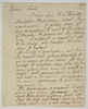 Series 72.050: Letter received by Banks from John Fothergill, 20 July [?]1775