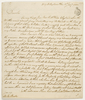 Series 38.22: Letter received by Banks from John Hunter, 15 January 1802