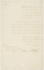 Series 41.33: Copy of an order issued by William Bligh to Philip Gidley King, 1 January 1807