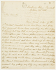 Series 40.006: Letter received by Banks from William Bligh, 26 October 1805