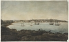 [View of the west side of the Cove, ca. 1809 / attributed to George W. Evans]