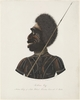 Cobbawn Wogi Native Chief of Ashe Island Hunters [sic] River N S Wales, 1819 / drawn by R. Browne