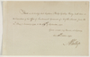 Series 39.006: Testimonial, signed by Arthur Phillip, concerning Philip Gidley King, 10 October 1792