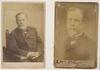 Louis Pasteur, French biologist, 1878 and 1886 / photographers A. Gerschel, Paris; Felix Nadar, Paris