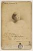 Louise Mack, writer, August 1897 / photographer J. Hubert Newman