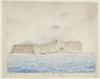 Item 1: Terrel Di Hugo [Tierra del Fuego ?], undated watercolour / possibly by John Biscoe