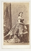 Anna Bishop, soprano, 1868 / Robinson's Premier Photographic rooms, 348 George Street, Sydney