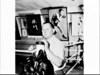 Portrait of boxing trainer (and father of APA photographer Ernie McQuillan), Ern McQuillan in his gymnasium, Newtown