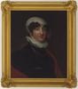 Item 02: Portrait of Anna Josepha King, ca. 1800 / oil portrait by an unknown artist