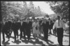 Item 179: Tribune negatives including President Ky and Prime Minister Harold Holt at a press conference and demonstration against President Ky, Canberra, January- February 1967