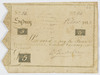 Volume 13 Part 01: Two promissory notes for five shillings signed by Elizabeth Macarthur and dated 2 November 1815