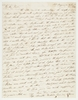 Letter written by Thomas and Anne Hassall to Miss J. (Jane) Walters of Perth, Carmarthenshire, South Wales, 31 January 1825 and 15 February 1825