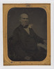 Studio photograph of a man, after 1852