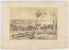 Sydney, from Mrs Darling's Point. [A view, including Rushcutters Bay and a sailing ship], 1842 / John Skinner Prout