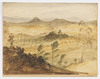 ITEM 07: [Stroud, New South Wales] / watercolour by Philip Gidley King, [ca. 1848]