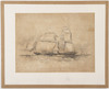 The Australian Steam Packet Sea Horse on her trial cruise / O.W. Brierly del. Fairland lith, 45 St John's Square, [184-?]