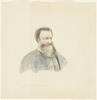 Item 09: [James Snowden Calvert, ca. 1869-1872 / portrait attributed to Louisa Atkinson]