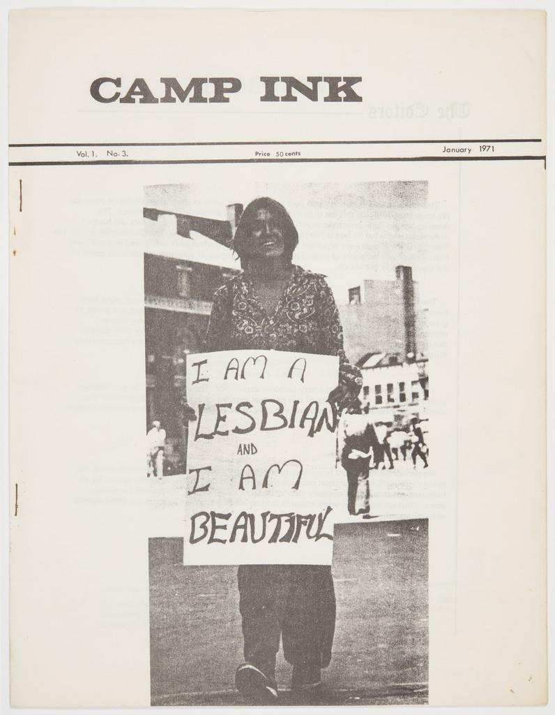Camp Ink. Vol. 1, No.3 (January 1971)