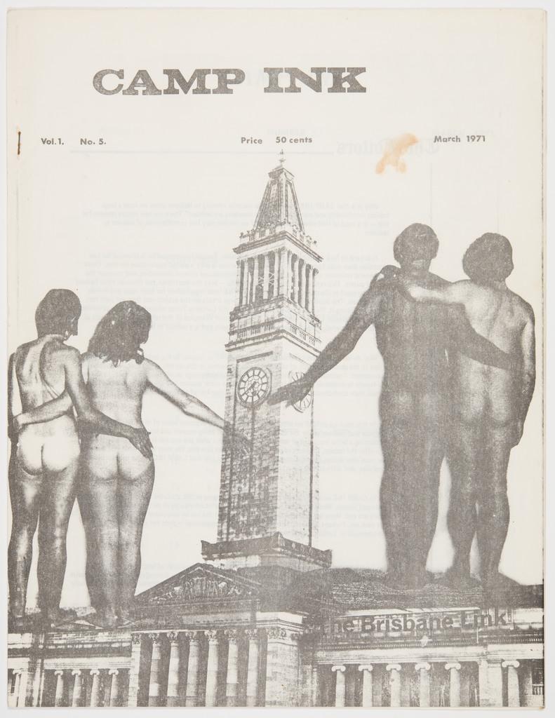 Camp Ink. Vol. 1, No.5 (March 1971)