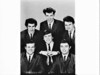 APA studio portrait of pop singer Normie Rowe and his group the Playboys for TV Times