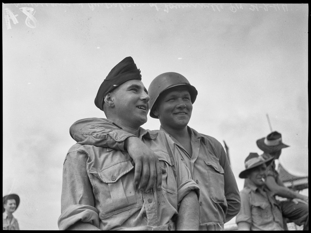 Americans and Australians at Townsville, 21 February 1944 / photographed by N. Herfort